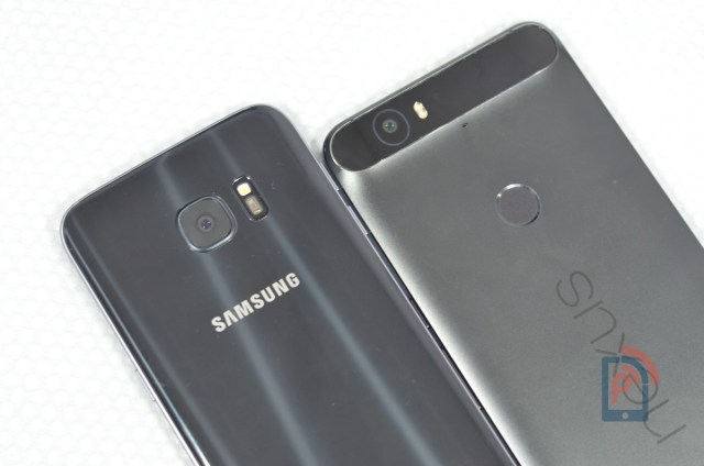Samsung Galaxy S7 Edge Vs Huawei Nexus 6P - Camera