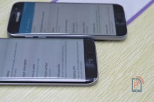 Samsung Galaxy S7 Vs S7 Edge - Edge Thinness
