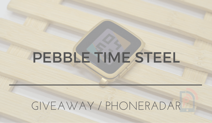 Pebble Time Steep Giveaway