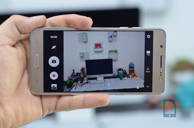 Samsung Galaxy J5 2016 - Camera App