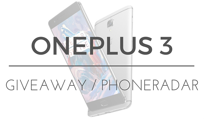 OnePlus 3 Giveaway