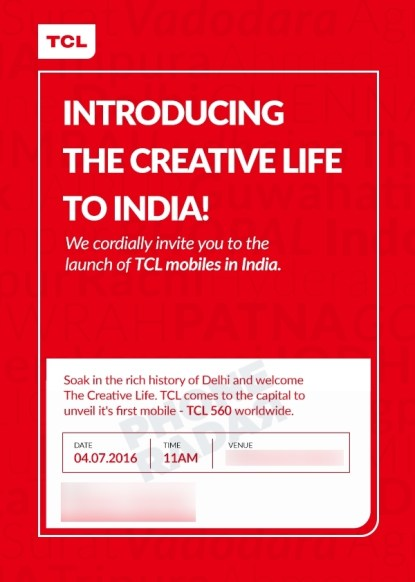 tcl 560 india