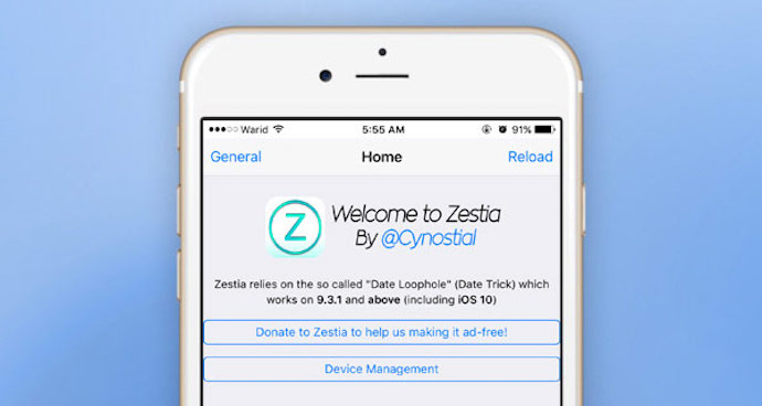 How To Install Zestia on your iPhone without Jailbreaking - Cydia