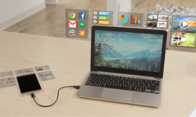 SuperBook Laptop Android Phone