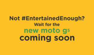 Moto G5 Smartphone to Launch Exclusively Through Amazon India on April 4th
