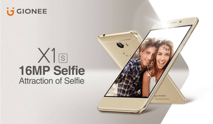 Gionee X1s with 16-megapixel selfie camera, 4000mAh battery launched in India