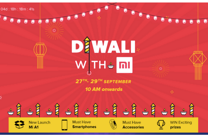 Xiaomi's Diwali With MI Sale Starts From 27th September - Offers & Deals