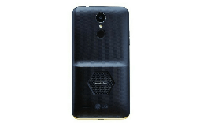 %name LG K7i the latest smartphone is featured with mosquito repelling technology