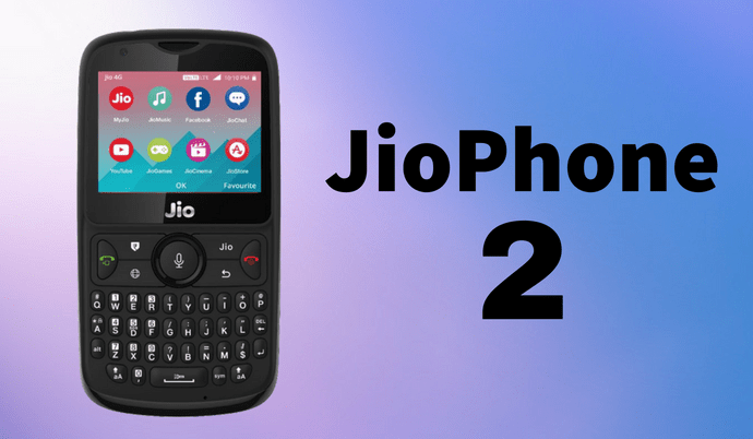 e3f6b21a9 JioPhone 2 Launched with QWERTY Keyboard for Rs 2