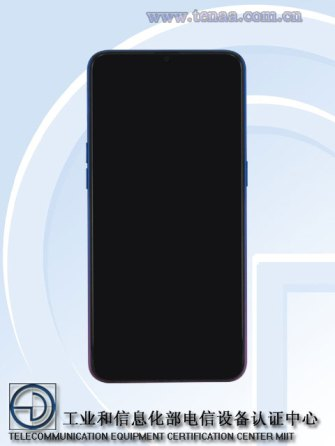 OPPO K1 Smartphone 2018 Front