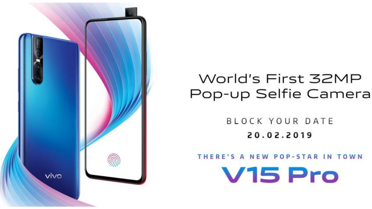 Get ready for Vivo V15 Pro on February 20