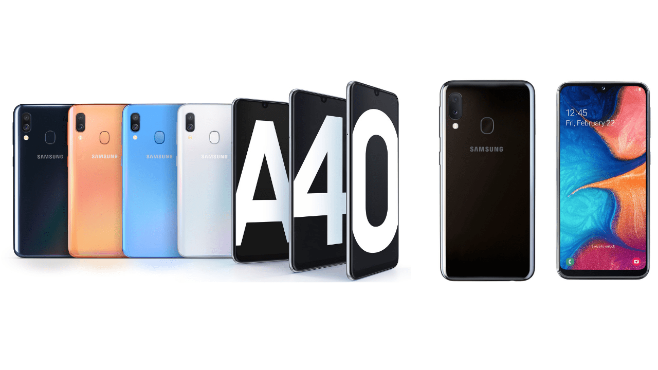 Samsung Galaxy A80 with a 48MP main camera and rotating camera array