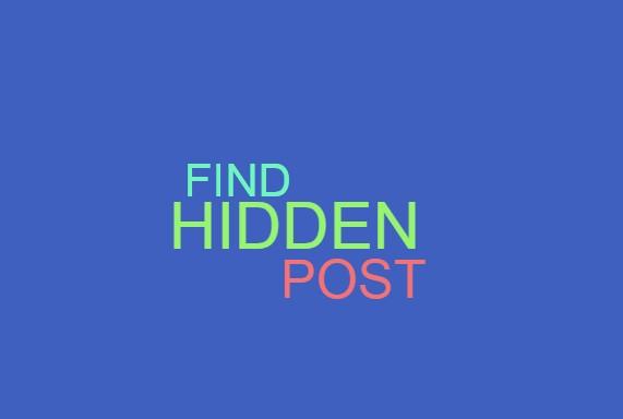 How To Find Hidden Posts On Timeline Facebook