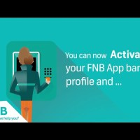 Activate FNB Cellphone Banking
