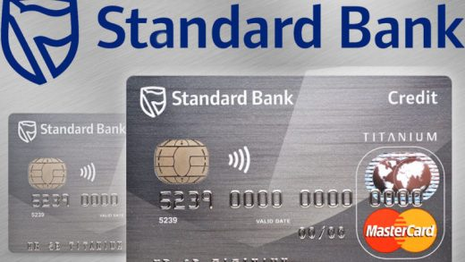 Standard Bank Credit Card Application
