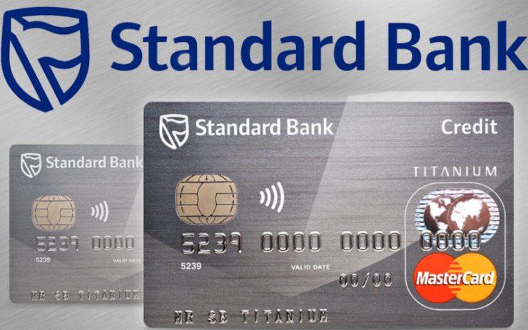 Standard Bank Credit Card Application