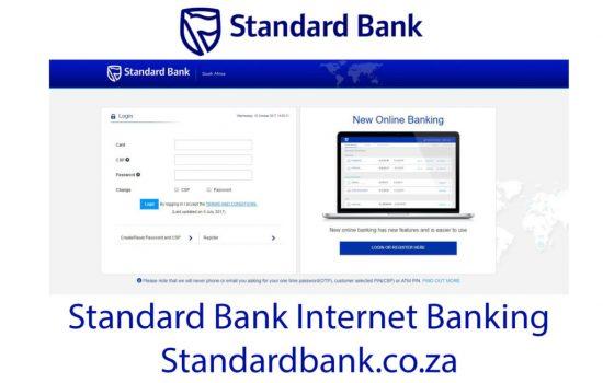 Standard Bank Online Banking Registration 2021  5 Steps to Register