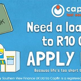 Capfin Online Loan Application