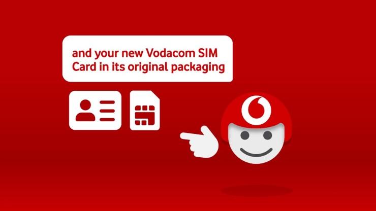 Activate Vodacom SIM Card