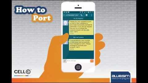 Port Vodacom To Cell C