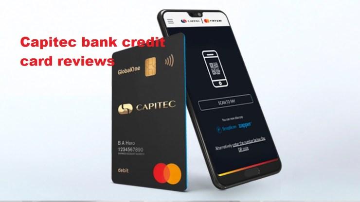 Capitec bank credit card reviews