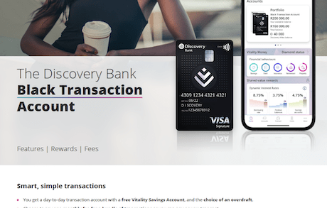 Discovery bank benefits