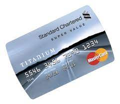Standard bank titanium card