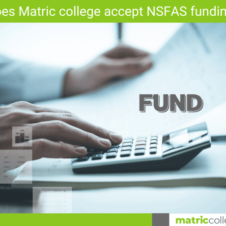 Can NSFAS fund Students without matric