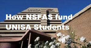 How NSFAS fund UNISA Students