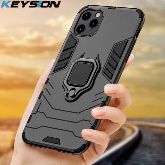 KEYSION Shockproof Armor Case For iPhone 11 Pro 11 Pro Max Anti-fall Phone KEYSION Shockproof Armor Case For iPhone 11 Pro 11 Pro Max Anti-fall Phone Back Cover for Apple iPhone 11 Xs Max 6S 7 8 Plus XR.