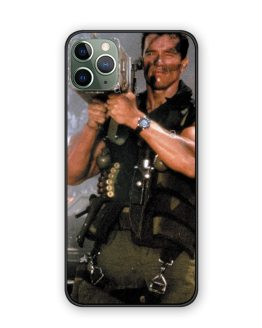 Arnold Schwarzenegger movie Commando 1985 poster glossy smooth tpu Silicone soft shell case For iPhone 11 PRO MAX 11pro coque