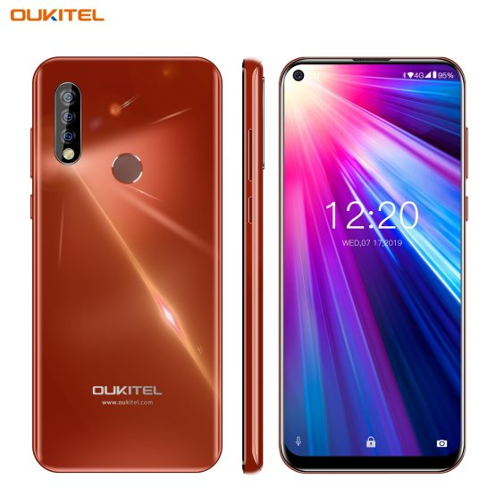 4G Mobile Phone OUKITEL C17 Android 9.0 Smartphone 6.35'' Face ID Fingerprint Octa Core 3GB 16GB 3900mAh Triple Camera MT6763