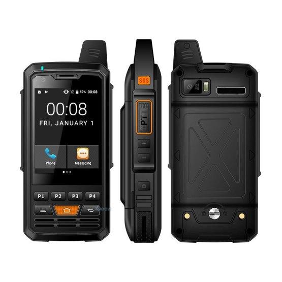 original P50 Zello phone 4G LTE Android Walkie Talkie Network intercom Rugged Smartphone PTT Radio Enhanced Antenna F22 F25