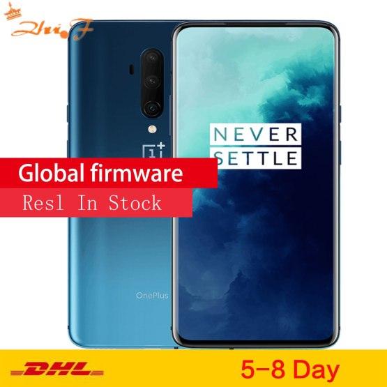 Original Global ROM OnePlus 7T pro 8GB 256GB Smartphone Snapdragon 855 Plus Octa Core 90Hz AMOLED Screen 48MP Triple Cameras NFC