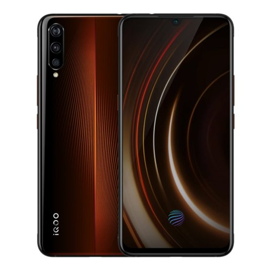 "Orginal Vivo iQOO Mobile Phone 6.41"" AMOLED 6GB RAM 128GB Snapdragon 855 Octa Core Android 9 4000mAh NFC 4D Game Smartphone"