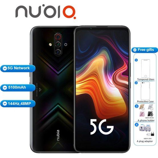 "Brand New Original ZTE Nubia Play 5G Mobile Phone 6.65"" 8GB 128GB 5100mAh 30W Snapdragon 765G 48MP Quad Camera NFC 5G Smartphone"