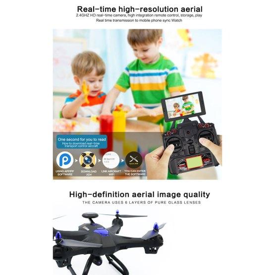 6Axis 1080P Full HD Camera RC Drone GPS FPV WIFI Clearance X183 4CH 6Axis 1080P Full HD Camera RC Drone GPS FPV WIFI Quadcopter One Key Return Observe Me Foldable Broad Angle
