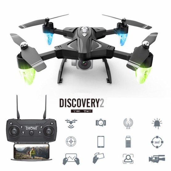 Best RC Drone Quadcopter With 1080P Wifi FPV Camera RC Helicopter 20 Flying Time Professional Dron Quadcopter Drones