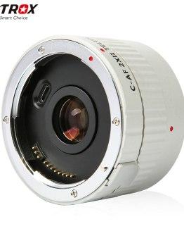VILTROX C-AF 2X II AF Auto Focus Teleconverter Lens Extender Magnification Camera Lenses for Canon EF Mount Lens DSLR Camera