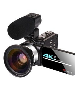 48 Megapixel 4K HD Digital Camera WIFI Wedding DV Live Video Recorder