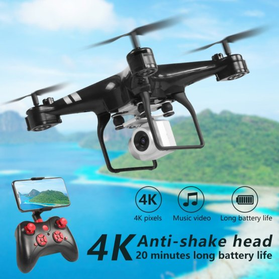 New KY101D Drone 4K RC Helicopter with HD WIFI FPV 16MP Camera 2.4G 4 axis RC Quadcopters Drones 22 Minutes Long fly Time Dron