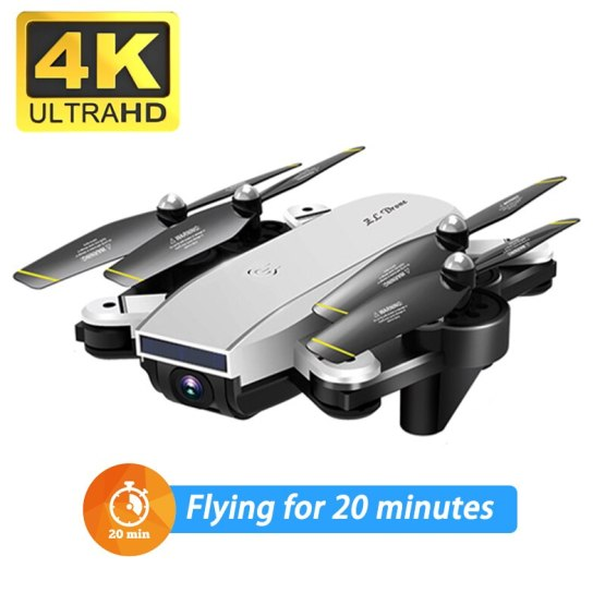 Profession 4k Drone HD Dual Camera Wifi Transmission Fpv Optical Flow Stable Height Quadcopter Rc Helicopter Drone Camera Dron