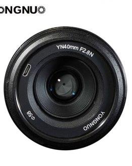 YONGNUO YN 40mm F2.8 Camera Lens for Nikon YN40 Lenses AF MF Standard Prime Lens for Nikon DSLR Cameras