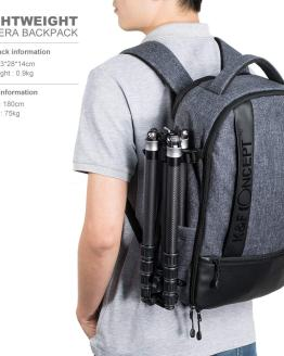 "K&F Concept Professional Camera Backpack Large Capacity Waterproof Photography Bag for DSLR Cameras,15"" Laptop,Tripod,Lenses"