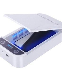 Portable UV Sterilizer Disinfection Box Mobile Phone Face Sterilizing Tool Multifunctional mobile phone sterilizer
