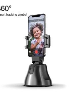 360 Rotation Auto Face Track Camera Smart Shoot Camera Portable Auto-tracking Capture Selfie Sticks Photo Vlog Live Video Record