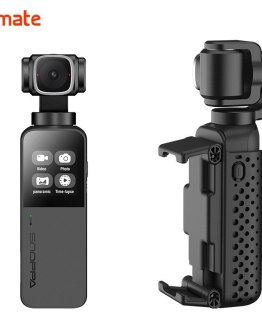 Snoppa Vmate Palm Sized Video Sports Action Camera 4K 3-Axis Handheld Gimbal Stabilizer PK Gopro Hero 7 Yi 4K DJI Osmo Action