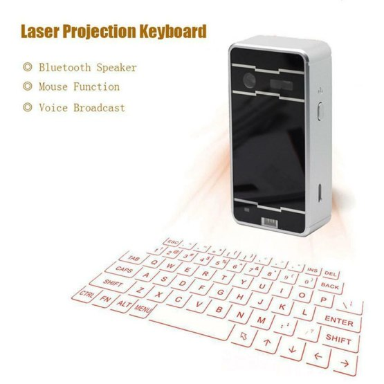 Portable Virtual Lasers keyboard Mouse Wireless Bluetooth