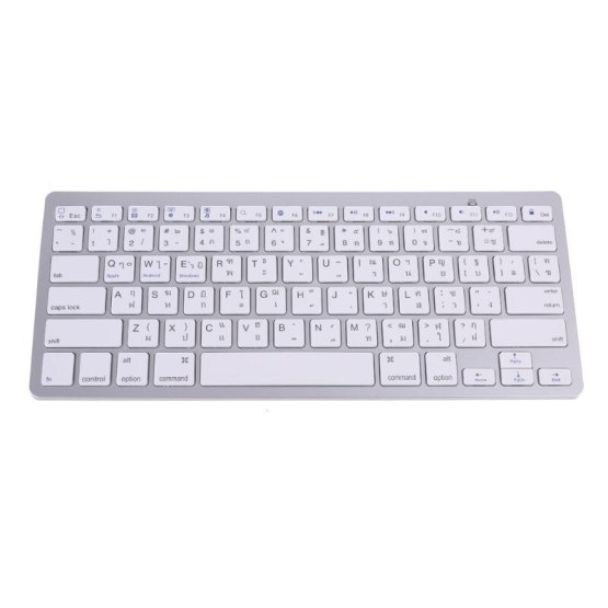 Thailand English Thai 78 Keys Wireless Bluetooth Keyboard