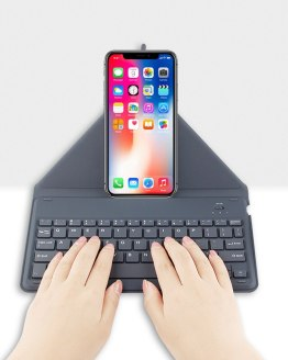 Bluetooth Keyboard For iPhone XS Max XR 8 7 6 s Plus